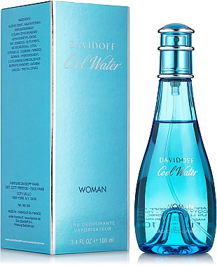 Davidoff Cool Water woman - Дезодорант
