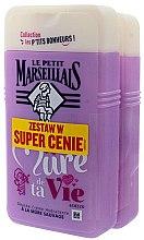 Парфюми, Парфюмерия, козметика Комплект душ гелове - Le Petit Marseillais Je Suis La Mure De Ta Vie Shower Gel (sh/gel/2x250ml)