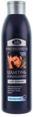 """Шампоан-балсам за мъже """"Тонизиращ"""" - Iris Cosmetic — снимка N1"""