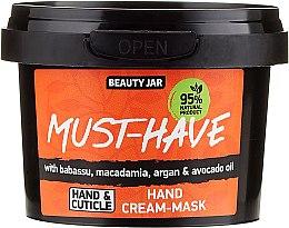 Парфюмерия и Козметика Крем-маска за ръце - Beauty Jar Must-Have Hand Cream-Mask