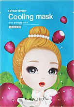 Парфюмерия и Козметика Охлаждаща маска за лице от плат - The Orchid Skin Orchid Flower Cooling Mask