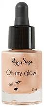 Парфюмерия и Козметика Течен хайлайтър за лице - Peggy Sage Oh my Glow! Liquid Illuminator
