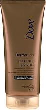 Парфюмерия и Козметика Автобронзиращ лосион за тяло - Dove Derma Spa Summer Revived Medium To Dark Skin Body Lotion
