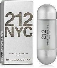 Парфюми, Парфюмерия, козметика Carolina Herrera 212 For Women - Тоалетна вода ( мини )