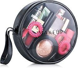 """Парфюми, Парфюмерия, козметика Козметичен прозрачен несесер """"Beauty Eclipse"""" 17x5cm, (без съдържанието) - MakeUp"""