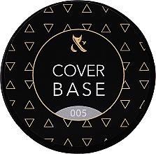 Парфюмерия и Козметика Базово камуфлажно покритие за нокти (бурканче) - F.O.X Cover Base