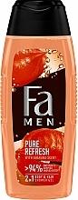 Парфюмерия и Козметика Душ гел с аромат на гуарана - Fa Men Pure Refresh With Guarana Scent