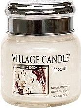 Парфюми, Парфюмерия, козметика Ароматна свещ - Village Candle Snoconut