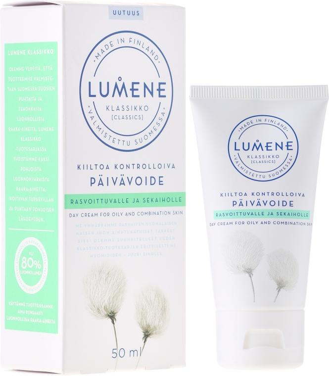 Матиращ дневен крем за лице - Lumene Klassikko Day Cream