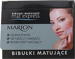 Парфюми, Парфюмерия, козметика Комплект матиращи кърпички за лице, 4 бр. +1 - Marion Mat Express