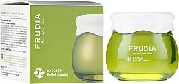 Парфюмерия и Козметика Възстановяващ крем за лице с екстракт от авокадо - Frudia Relief Avocado Cream