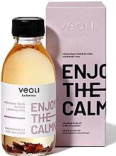 Парфюмерия и Козметика Релаксиращо масло за тяло с розови листенца - Veoli Botanica Relaxing Body Oil With Rose Petals Enjoy The Calmness