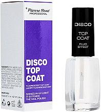 Парфюмерия и Козметика Флуоресцентен топ лак - Pierre Rene Disco Top Coat Fluo Effect