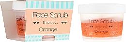 "Парфюмерия и Козметика Овежаващ скраб за лице ""Портокал"" - Nacomi Refreshing Face Orange"