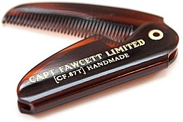 Парфюми, Парфюмерия, козметика Сгъваем гребен за мустаци, CF87T - Captain Fawcett Folding Pocket Moustache Comb