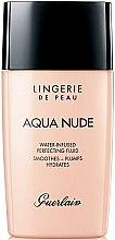 Парфюмерия и Козметика Лек хидратиращ фон дьо тен - Guerlain Lingerie de Peau Aqua Nude