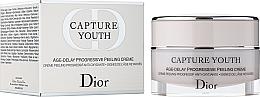 Антиоксидантен обновяващ крем - Dior Capture Youth Age-Delay Progressive Peeling Creme — снимка N1