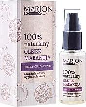 Парфюми, Парфюмерия, козметика Масло от маракуя за коса, тяло и лице - Marion Eco Oil