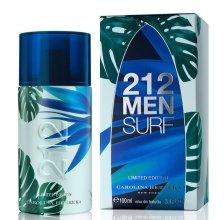 Парфюми, Парфюмерия, козметика Carolina Herrera 212 Surf Men - Тоалетна вода