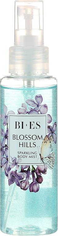 Bi-es Blossom Hills Sparkling Body Mist - Парфюмен мист за тяло с блестящи частици