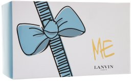 Парфюми, Парфюмерия, козметика Lanvin Lanvin Me - Комплект (edp/80/ml + b/lotion/100ml + sh/gel/ 100ml + bag)