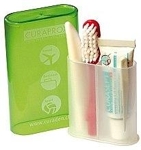 Парфюми, Парфюмерия, козметика Комплект за пътуване, паста и четка за зъби - Curaprox