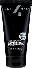Парфюмерия и Козметика Парфюмен шампоан за брада - Unit4Men Citrus&Musk Perfumed Beard Shampoo