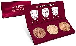Парфюмерия и Козметика Палитра за контуриране на лице - Affect Cosmetics Contour Palette