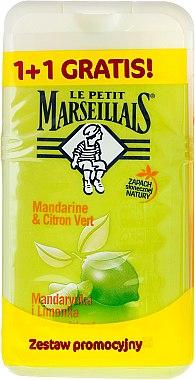 "Комплект душ гел ""Мандарина и Лайм"" - Le Petit Marseillais (sh/gel/250ml + sh/gel/250ml)"