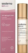 Парфюмерия и Козметика Крем-гел против стареене - SesDerma Laboratories RetiAge Anti-aging Gel Cream