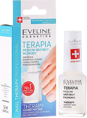 Противогъбична терапия за нокти - Eveline Cosmetics Nail Polish for Nail Fungus Feet & Hands Mykose