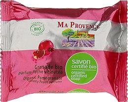 Парфюмерия и Козметика Био-органичен сапун с аромат на нар - Ma Provence Organic Soap