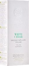 Парфюми, Парфюмерия, козметика Маска за коса за обем - Natura Siberica Copenhagen White Cedar Volume Hair Mask