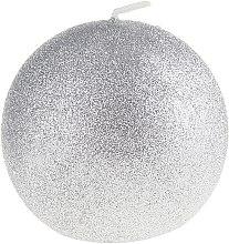 Парфюми, Парфюмерия, козметика Декоративна свещ, сребриста, 10см - Artman Glamour