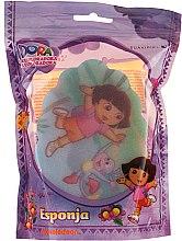 """Парфюмерия и Козметика Детска гъба за баня """"Дора"""" 169-9 - Suavipiel Dora Bath Sponge"""