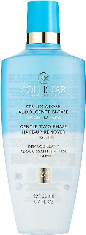 Лосион за почистване на грим - Collistar Gentle Two-Phase Make-Up Remover — снимка N1