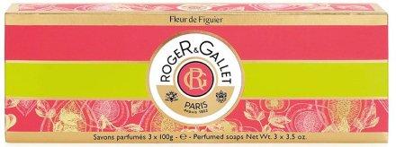 Roger & Gallet Fleur de Figuier - Комплект (soap/3x100g) — снимка N1
