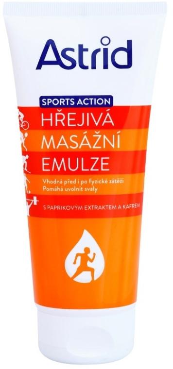 Загряваща емулсия за масаж - Astrid Sports Action Warm Massage Cream — снимка N1