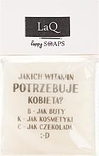 """Парфюмерия и Козметика Ръчно изработен натурален сапун """"SMS"""" с аромат на ананас - LaQ Happy Soaps Natural Soap"""