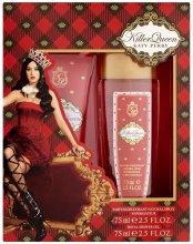 Парфюми, Парфюмерия, козметика Katy Perry Killer Queen - Комплект (deo/75ml + sh/gel/75ml)