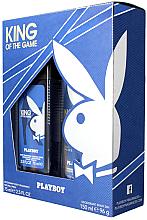 Парфюми, Парфюмерия, козметика Playboy King of the Game - Комплект (дезодорант/150ml + спрей за тяло/75ml)