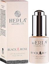 Парфюми, Парфюмерия, козметика Масло за лице - Herla Black Rose Face Dry Oil