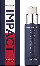 Парфюмерия и Козметика Tommy Hilfiger Impact - Подхранващо масло за лице и брада