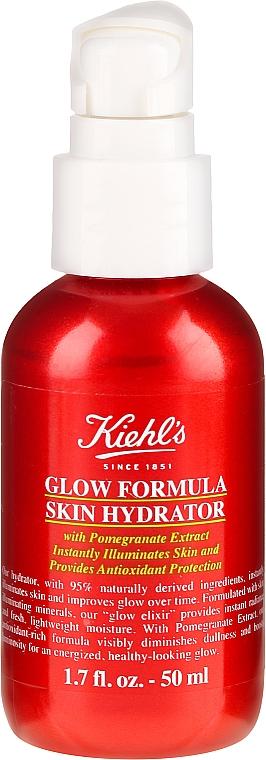 Хидратиращ и озаряващ еликсир за лице - Kiehl`s Glow Formula Skin Hydrator — снимка N1