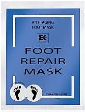 Парфюмерия и Козметика Хидратираща маска за крака - Brazil Keratin Foot Rapair Mask