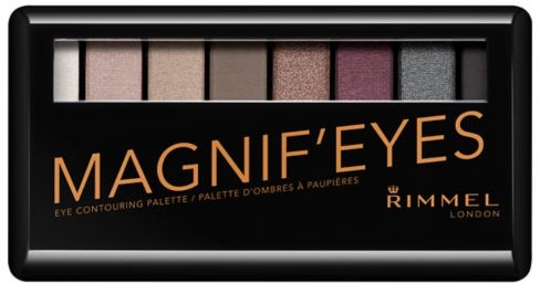 Палитра сенки за очи - Rimmel Magnif'Eyes Eyeshadow Palette (London Nudes Calling) — снимка N1