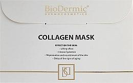 Парфюмерия и Козметика Маска за лице - BioDermic Collagen Mask