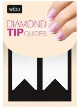 Парфюмерия и Козметика Стикер-шаблон за френски маникюр - Wibo Diamond Manicure Tip Guides