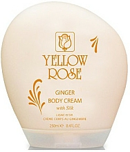 Крем-мляко за тяло - Yellow Rose Ginger Body Cream — снимка N1