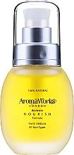 Парфюмерия и Козметика Подхранващ серум за лице - AromaWorks Nourish Face Serum